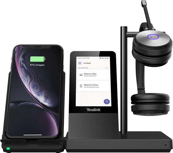Yealink WH66 Dual Headset, Microsoft Teams Edition